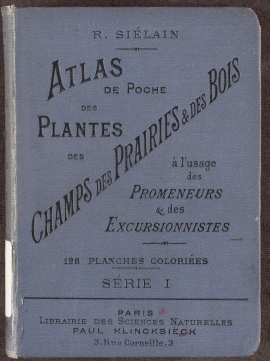 Atlas de Poche des Plantes des Champs, cloth binding