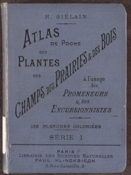Atlas de Poche des Plantes des Champs, cloth binding