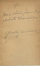 Yvette Guilbert, autograph signature