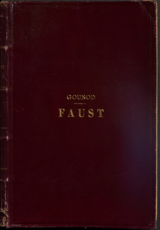 Faust, cover