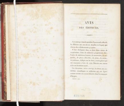 Histoire scientifique et militaire, «Avis des éditeurs»