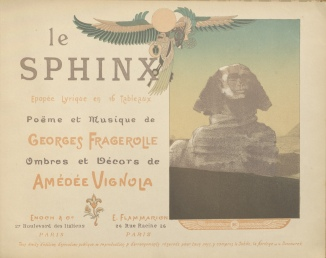 Le sphinx, title page