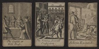 Popish Plot playing cards.