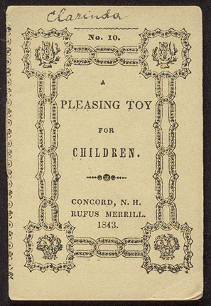 Cover of A Pleasing toy for children.